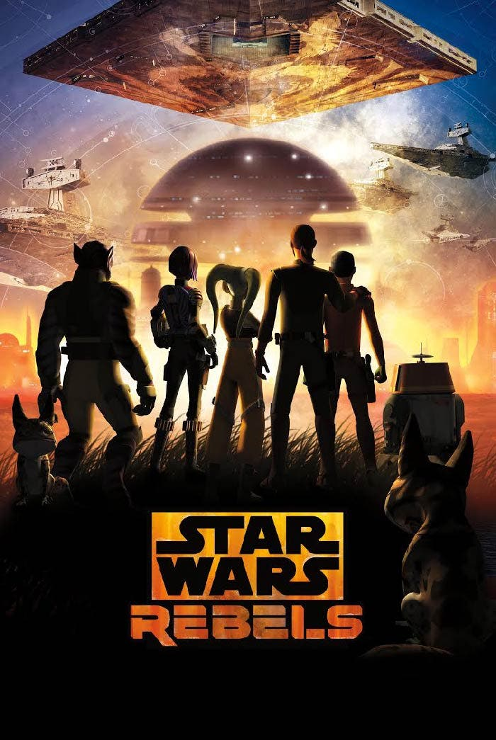 Poster mid season 4 temporada de Star Wars Rebels