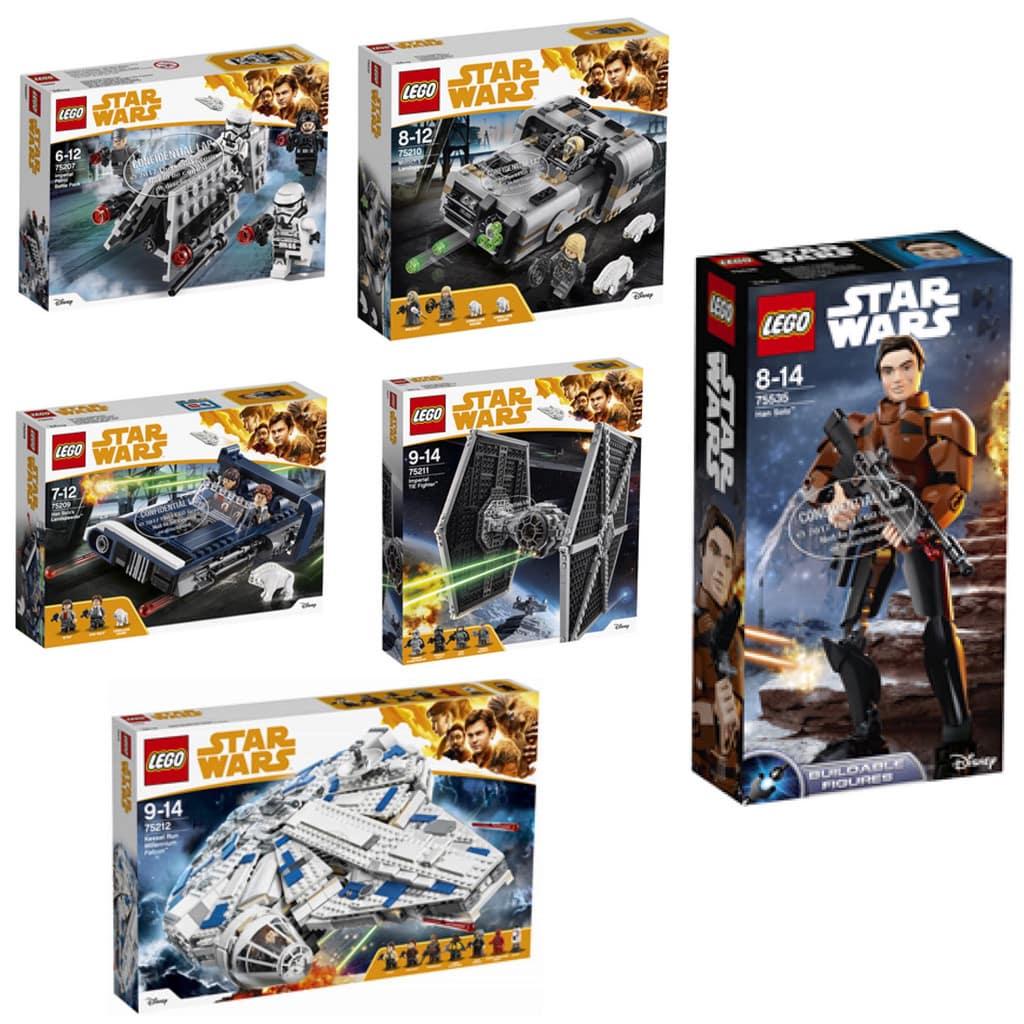 Lego 'Solo: una historia de Star Wars'