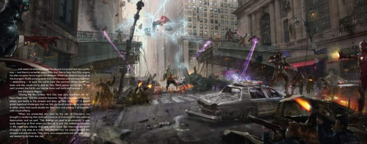 Concept Art Los Vengadores