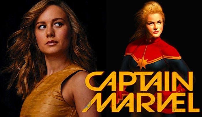 capitana marvel brie larson 2019 marvel studios