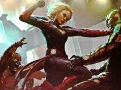 Arte conceptual de Capitana Marvel (2019)