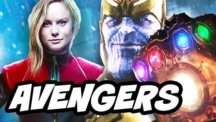 Capitana Marvel en Vengadores: Infinity War
