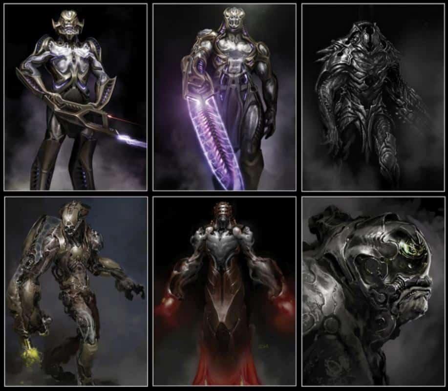 Chitauris Concept Art Los Vengadores