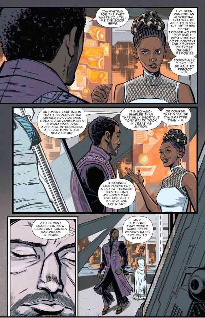 Cómic de Vengadores: Infinity War