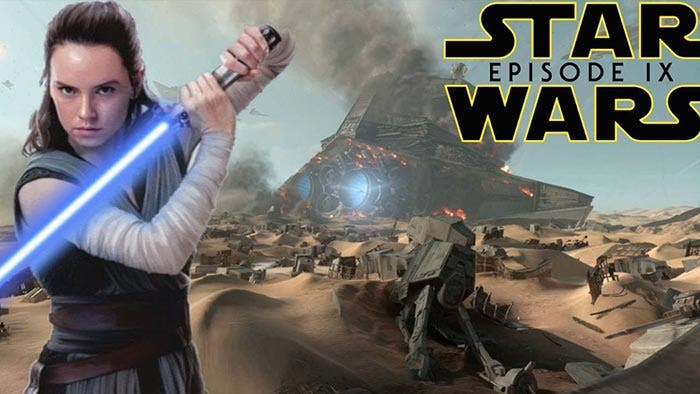 Daisy Ridley (Rey) en Star Wars 9