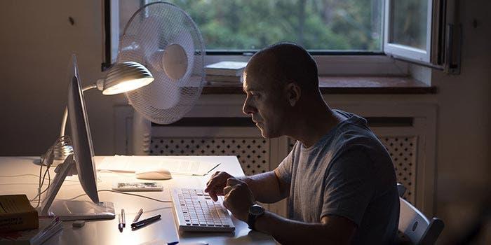 El autor en los Premios Forqué