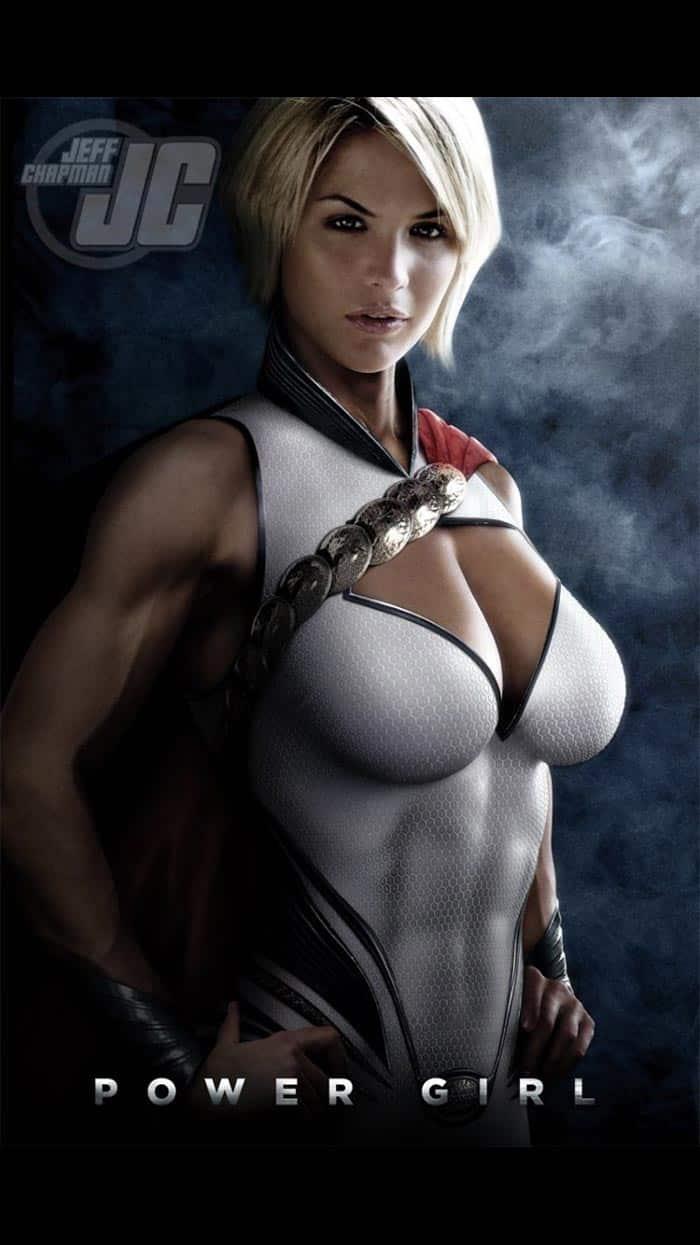 Gemma Atkinson como Power Girl en Supergirl