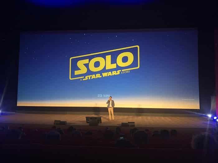 El nuevo logotipo de Han Solo: Una historia de Star Wars (Solo: A Star Wars Story)