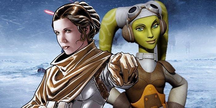 Hera (Star Wars Rebels) peleó en la Batalla de Hoth
