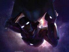 camnino a Vengadores: Infinity War. iron man Concept art de Los vengadores