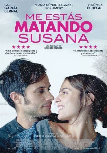 Poster de 'Me estás matando, Susana'