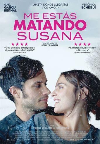 Poster de 'Me estás matando, Susana'