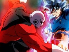 Jiren vs Goku en Dragon Ball Super