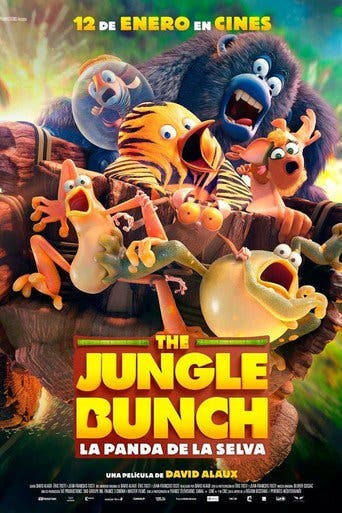 Poster de 'The Jungle Bunch. La panda de la selva'