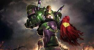 Lex Luthor con su armadura en Supergirl