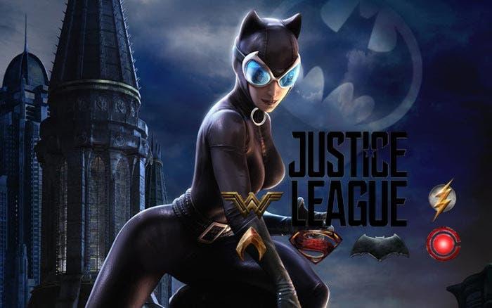 Catwoman en la Liga de la Justicia