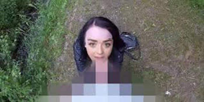 Maisie Williams, víctima del porno como Gal Gadot