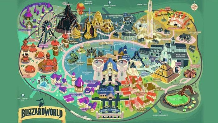 El nuevo mapa de Overwatch se llama Blizzard World