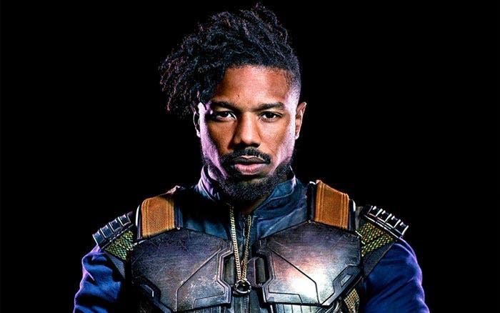 Michael B. Jordan en Black Panther (Pantera Negra)