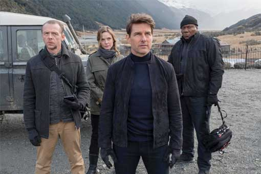 Misión Imposible: Fallout lidera la taquilla con Tom Cruise al frente.