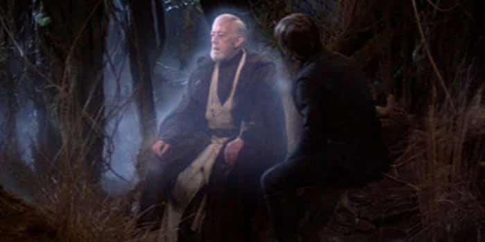 El fantasma de la Fuerza de Obi-Wan Kenobi