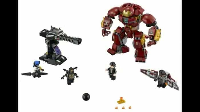 La pelea con la Hulkbuster en Vengadores: Infinity War
