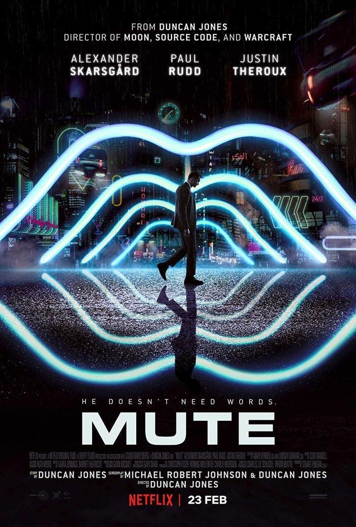 Póster de Mute (Netflix)