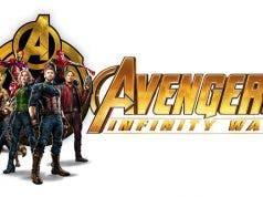 El banner promocional de Vengadores: Infinity War