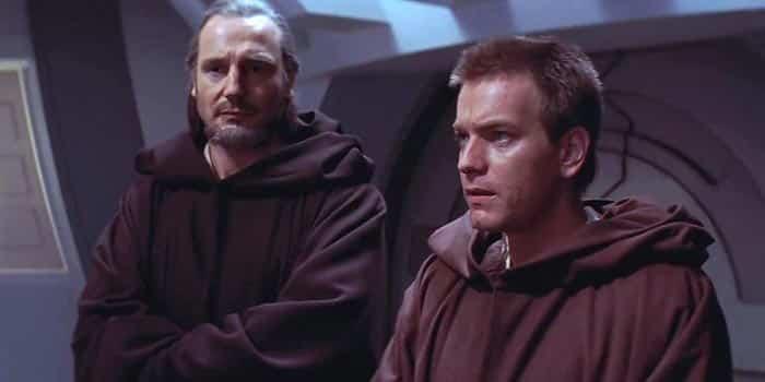Qui-Gon Jinn y Obi-Wan Kenobi en Star Wars
