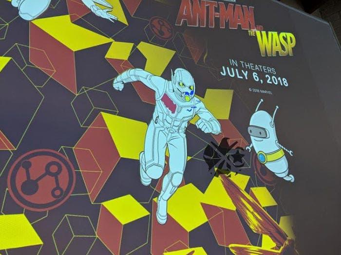 El robot de Ant-Man y la Avispa