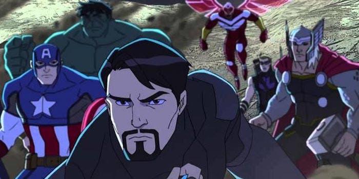 Las series de animación de Marvel