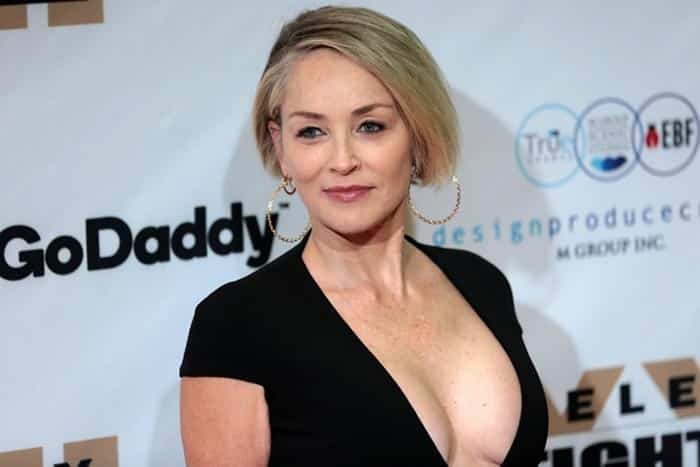 Sharon Stone se ríe de los casos de abusos sexuales en Hollywood