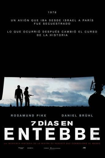 Poster de '7 días en Entebbe'