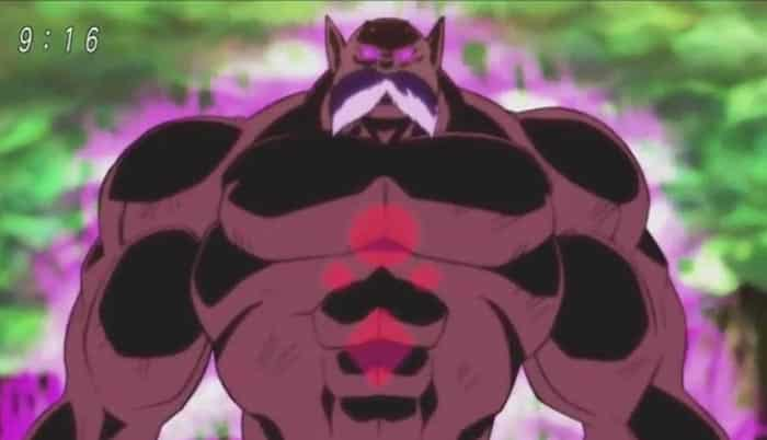 Toppo en Dragon Ball Super
