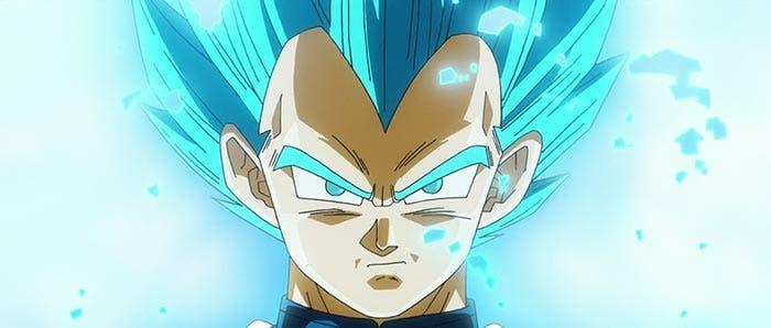 La transformación de Vegeta en Dragon Ball Super