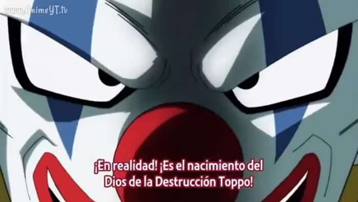 Vermoud habla sobre Toppo en Dragon Ball Super