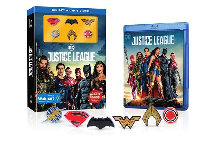 Versión extendida de la Liga de la Justicia en Blu-ray