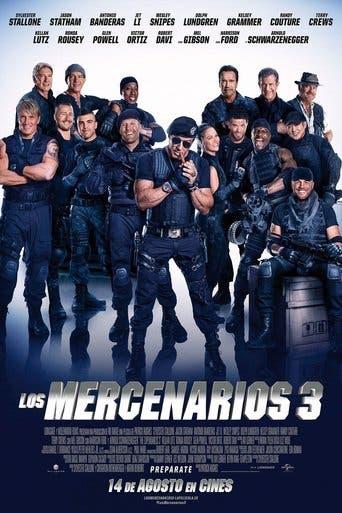 Poster de 'Los mercenarios 3'