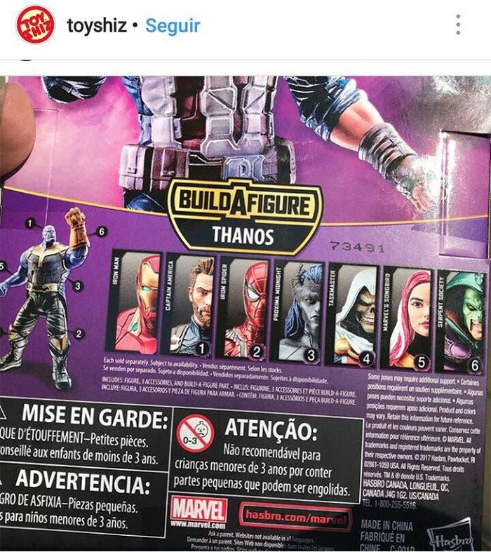 3 nuevos personajes de Marvel en Vengadores: Infinity War