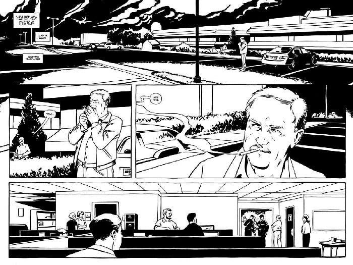 Viñetas de El asesino de Green River
