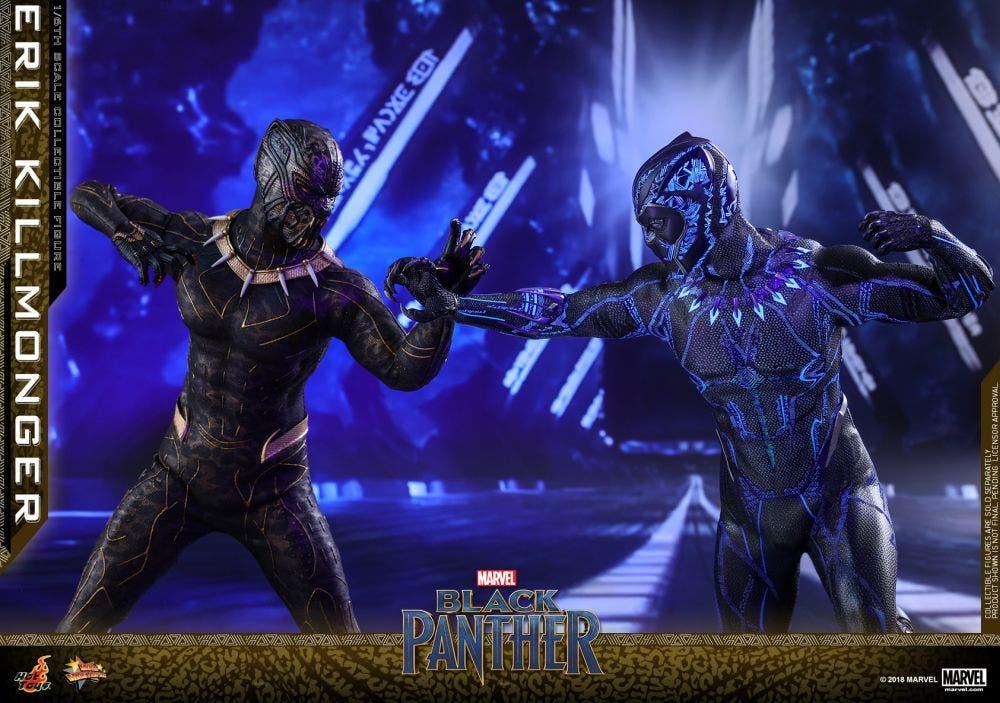 Erik Killmonger vs Black Panther