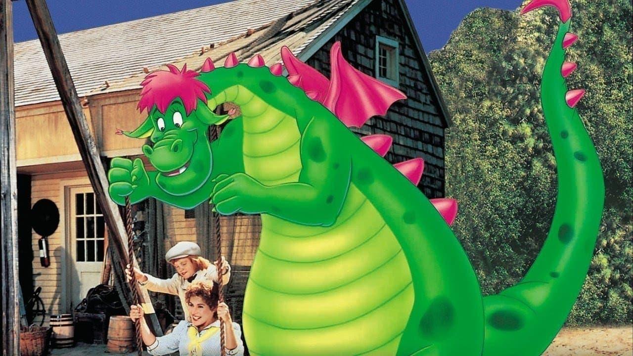 Pedro y el dragón Elliott