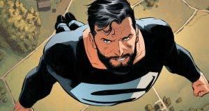 Revelada escena con el traje negro de Superman