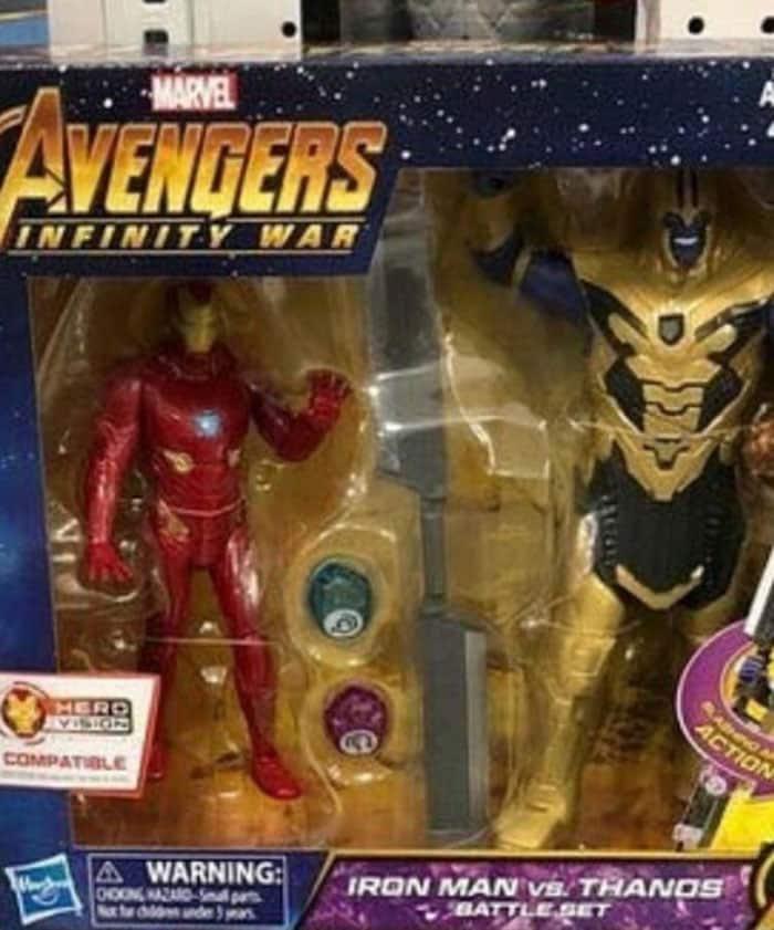 La armadura final de Thanos en Vengadores: Infinity War