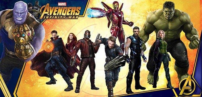 La nueva armadura de Iron Man en Vengadores: Infinity War (2018)