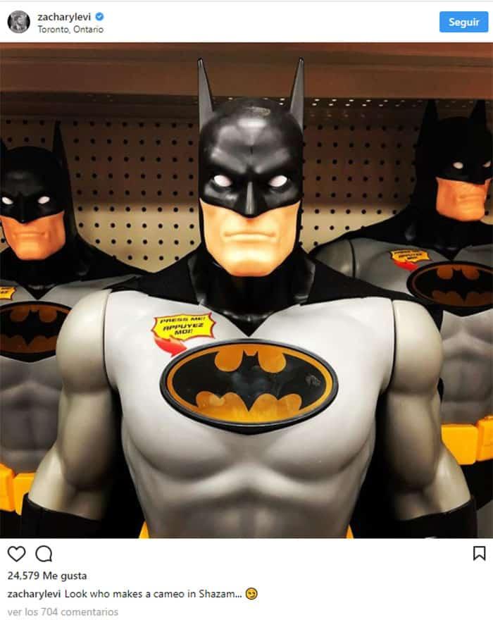 Batman hará un cameo en la película de Shazam