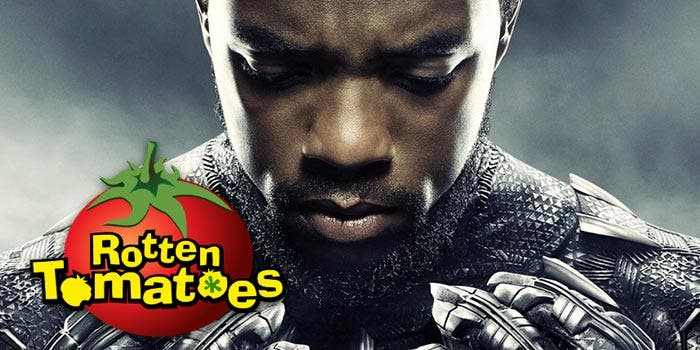 Black Panther en Rotten Tomatoes