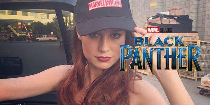 Brie Larson habla sobre Black Panther (Pantera Negra)