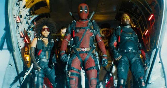 X-Force en el tráiler de Deadpool 2 (2018)