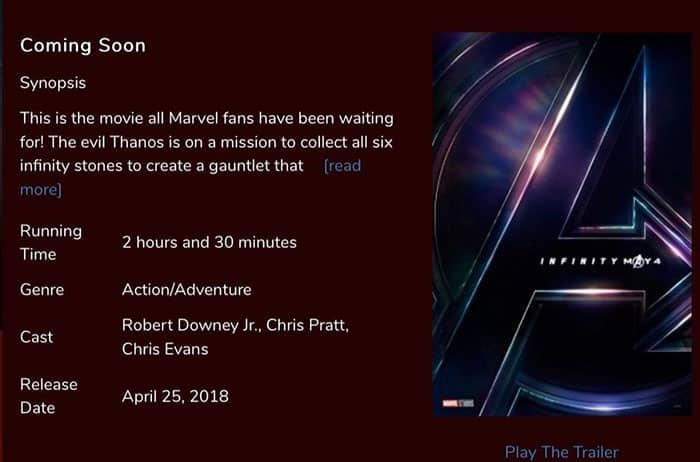 La duración de Vengadores: Infinity War es una auténtica salvajada